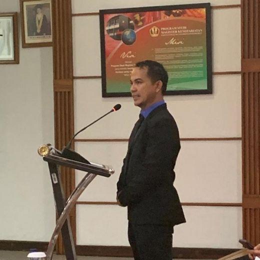 Yusuf Suparman Sarankan Revisi UU SKN Nomor 3 Tahun 2005