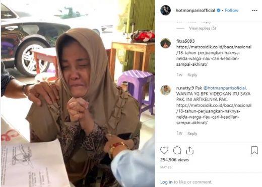 Sudah Berjuang 18 Tahun, Warga Kampar Riau Ini Ingin Cari Keadilan Sampai ke Akhirat
