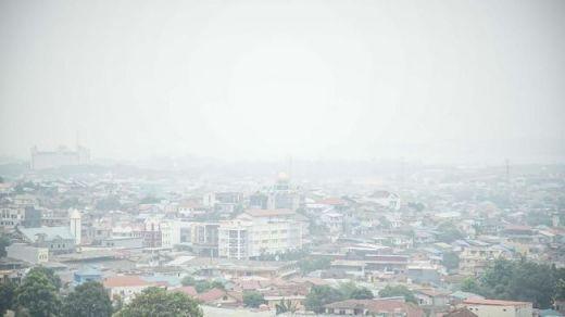 Tak Cuma di Pekanbaru, Kualitas Udara di Batam Juga Tidak Sehat