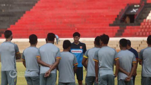 Hadapi Bali United, Milan: Kami Harus Cetak Gol Lebih Dulu
