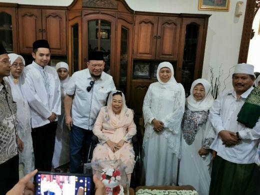 Tancap Gas, Usai Nikahkan Putrinya, LaNyalla Langsung Kunker ke Ponpes Al Fatimah