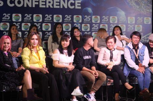 Pesta Ulang Tahun Perak Indosiar Hadirkan Puluhan Penyanyi Bertalenta Emas