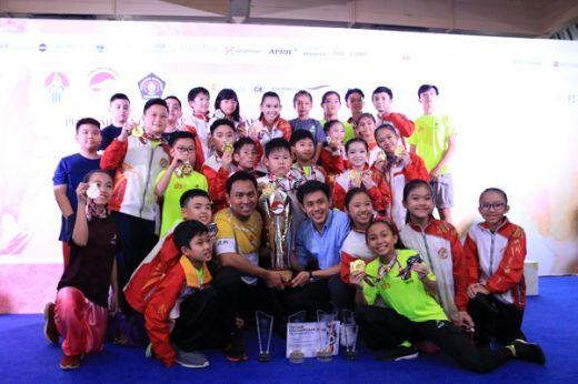 Perguruan Rajawali Sakti Rebut Piala Airlangga Hartarto