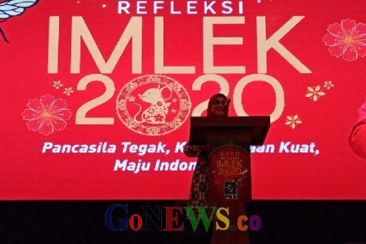 Wakili Cak Imin dalam Perayaan Imlek di Jakarta, Menaker Kenang Perjuangan Gusdur