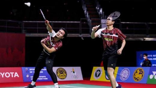 Ahsan/Hendra Dihentikan Pasangan Muda Taipei di Semifinal