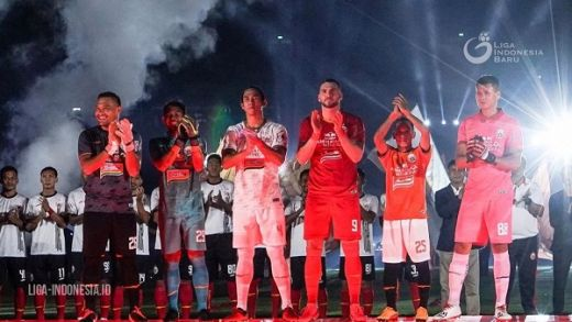 Launching Tim Persija Meriah