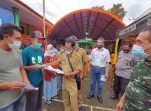 Korban Bencana Jateng dan Jatim Apresiasi Program Jemput Bola Dukcapil