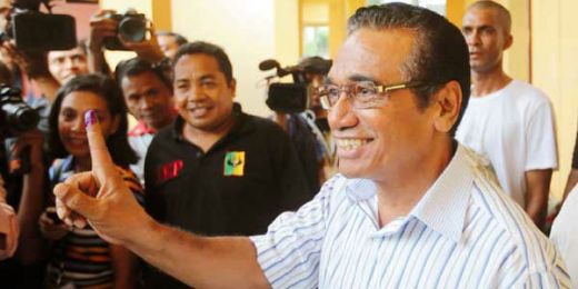 Guterres Unggul di Pilpres Timor Leste