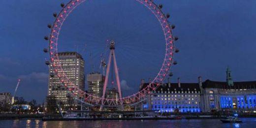 Parlemen Inggris Diserang, London Eye Berhenti Berputar, Wisatawan Terjebak di Ketinggian 135 Meter