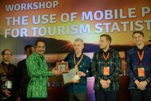 Buka Workshop Mobile Positioning Data, Menpar Perkenalkan 3V dan 3 P