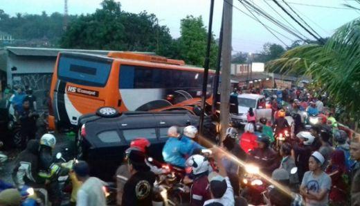 Waduh..., Sopir Bus yang Mengakibatkan 4 Orang Tewas di Puncak, Ternyata Tak Punya SIM