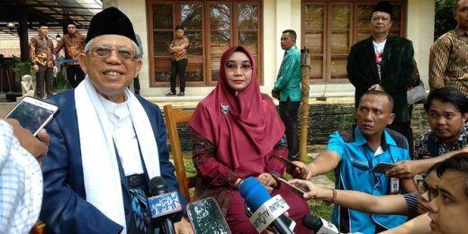 Maruf Amin Ngebet Pingin Ketemu Prabowo-Sandi dan Ormas Islam