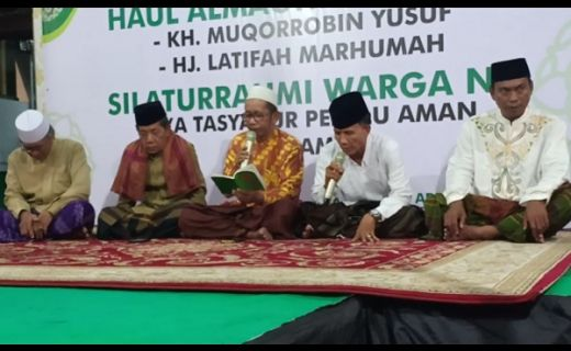 Momen Khaul KH.Muqorrobin Yusuf, Warga Nahdiyin Jakarta Utara Sekaligus Gelar Syukuran Pemilu dan Pilpres