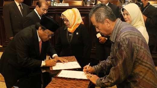 DPD Terima Hasil Pemeriksaan LKPP 2016 dari BPK