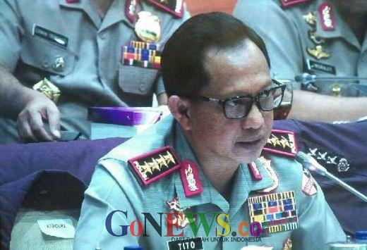 Didampingi Kapolda Riau, Lampung, Sulsel dan Kalbar, Kapolri Tito Jawab 12 Pertanyaan DPR