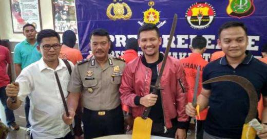 Polisi Ringkus Anggota Geng Motor yang Beraksi di Wilayah Jaka Karsa