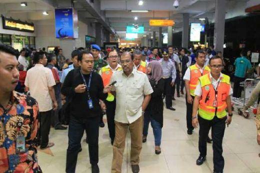Wakil Ketua DPD RI Nono Sampono Cek Kesiapan Mudik Di Bandara Halim Perdanakusuma