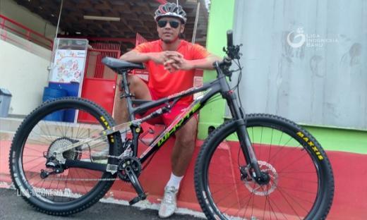 Indra Kahfi Hobi Downhill Selama Covid 19