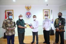 Rencana Pelaksanaan Fornas VI Dilaporkan Menpora Amali