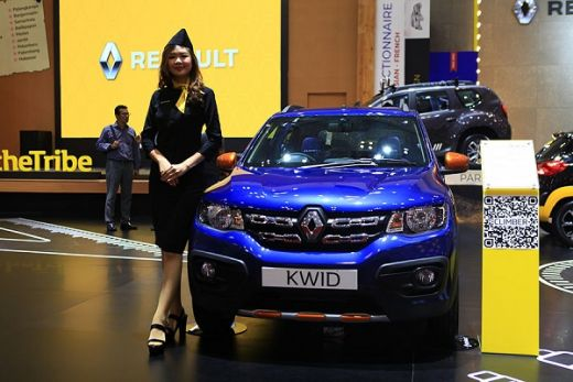 Renault Kwid Climber Diserbu Emak-emak di GIIAS 2019