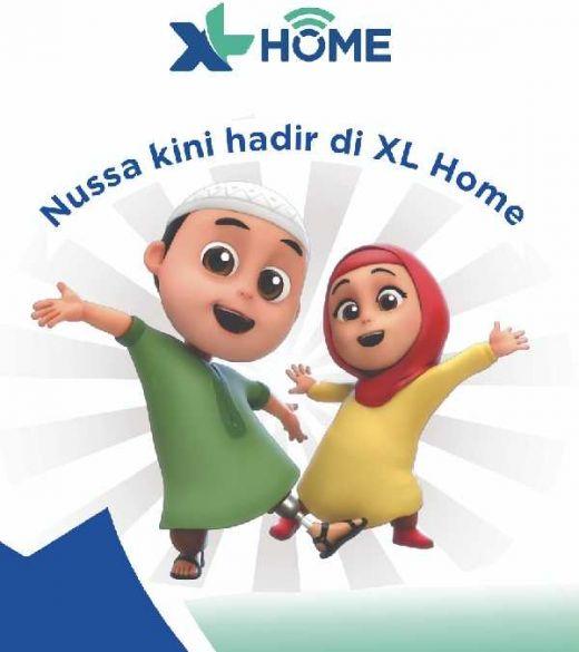 XL Home Hadirkan Tayangan Lokal Serial Animasi Nussa untuk Anak