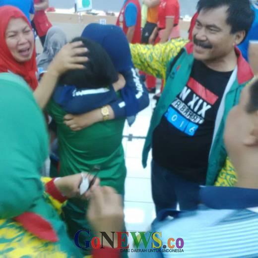 Luar Biasa, Penembak Junior Puteri Puti Mardhatilah Tambah Emas Untuk Riau
