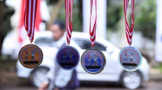 Sempat Ricuh, Akhirnya Dinyatakan Juara Bersama dengan Tuan Rumah, Senam Riau Raih Satu Medali Emas