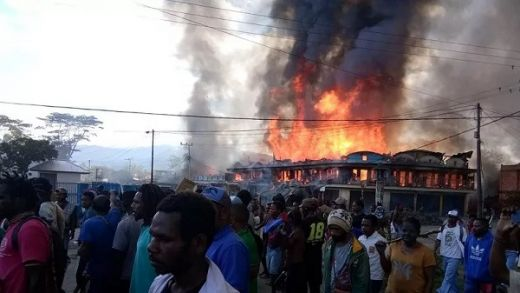 Kerusuhan Pecah di Wamena Papua, Massa Pelajar Bakar Rumah dan Kantor Pemerintah
