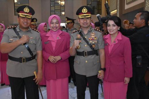 Kapolda Jatim lantik Para Kapolres dan Pejabat Baru Polda Jatim