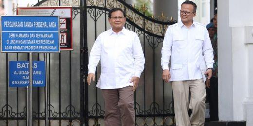 Doa PKS untuk Prabowo: Semoga Jadi Menteri Terbaik