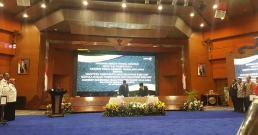 Detik-detik Sertijab Menteri Pariwisata dari Arief Yahya ke Wishnutama