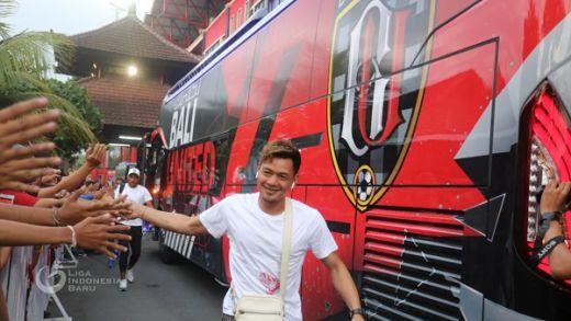 Bali United FC Gunakan Bus Baru