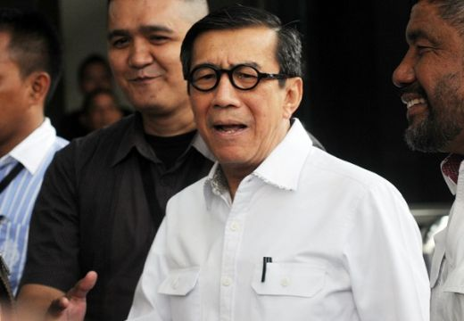 Sudah Dilantik jadi Anggota DPR RI, Yasonna Ditunjuk Jokowi Jabat Lagi Mekum HAM