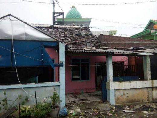 Dihantam Puting Beliung, 754 Rumah di Sidoarjo Rusak Parah