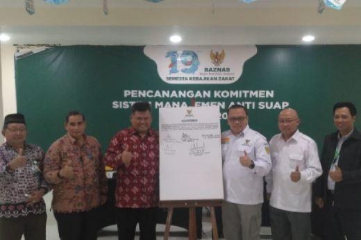 Wujud Manajemen Anti Korupsi, BAZNAS Canangkan Komitmen ISO Anti Suap