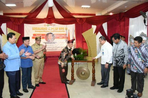Buka Olimpiade PPKn 9 di Riau, Syarief Hasan: Pancasila harus Menjadi Panduan