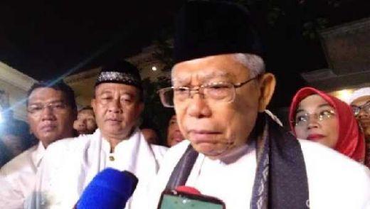 Tak Hadiri Kampanye Jokowi, Maruf Amin Gelar Haul Ibundanya