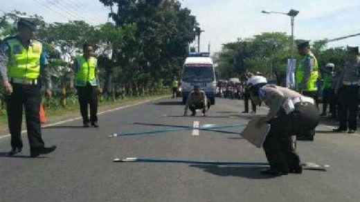 Tertimpa Baliho Jokowi-Maruf, Pengendara Motor Tewas di Ciamis