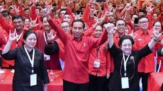 Kampanye Terbuka Perdana Jokowi-Maruf, Mega tak Hadir