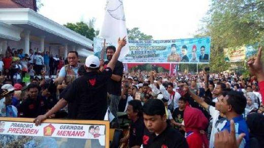 Hanya Dihadiri Dahnil Anzar, 35 Ribu Massa Ramaikan Jalan Sehat Menuju Kemenangan Prabowo-Sandi di Langsa