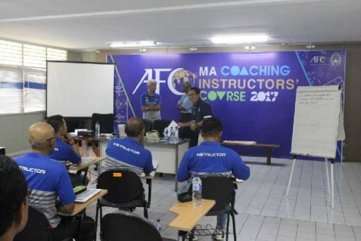 Indra Sjafri Cs Ikuti MA Coaching Instructors Course 2017