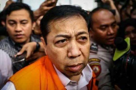 Breaking News: Terbukti Bersalah, Setya Novanto Divonis 15 Tahun Penjara