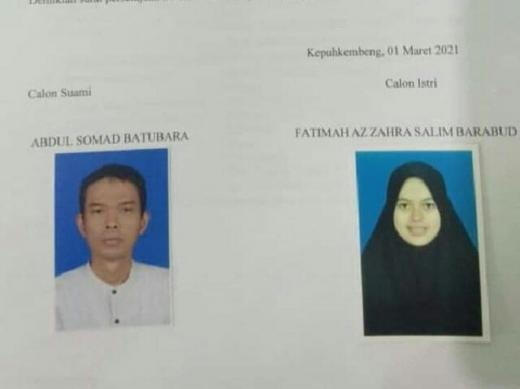 Habis Lebaran, Ustaz Abdul Somad Akan Nikahi Gadis 19 Tahun Asal Jombang