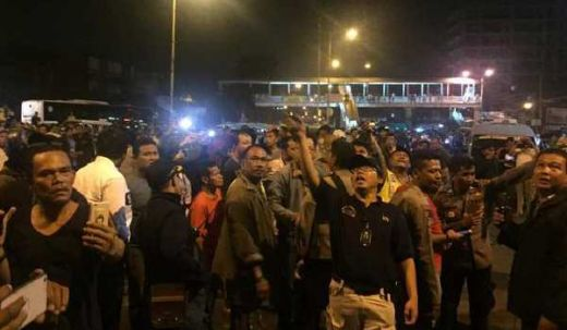 Gerak Cepat, Polisi Langsung Cek Sumber Ledakan di Kampung Melayu
