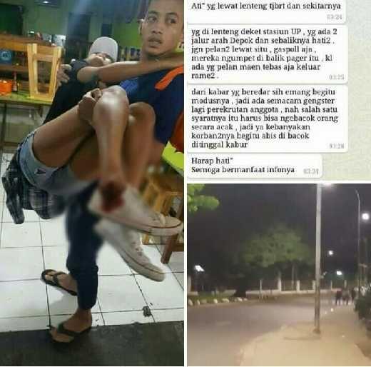 Polisi Janji Usut Geng Motor di Video Viral Penyerangan Pemotor