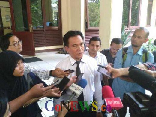 Yusril Nilai Gugatan Hemas Atas Pelantikan Ketua DPD Salah Kaprah dan Salah Alamat