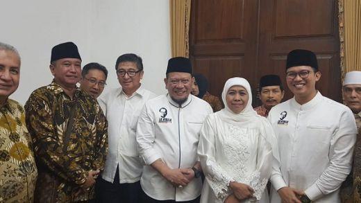 Pamit Mengabdi ke Senayan, La Nyalla Titip Kadin ke Gubernur Khofifah