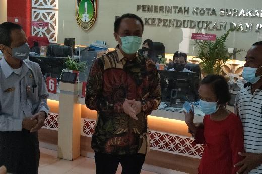 Cepat dan Responsif, Dinas Dukcapil Kota Surakarta Beri Kemudahan Penyandang Disabilitas