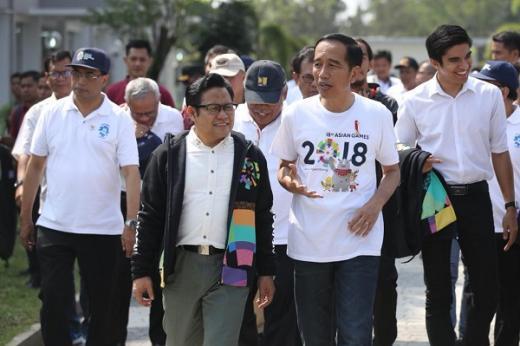 Duduki Posisi Tiga Besar, Jokowi Berikan Ucapan Selamat ke PKB