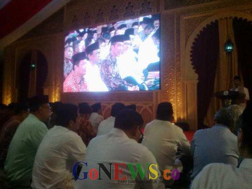 Jokowi Hadiri Buka Puasa Bersama di Kediaman, Wakil Ketua MPR Oesman Sapta Bangga Sekaligus Heran